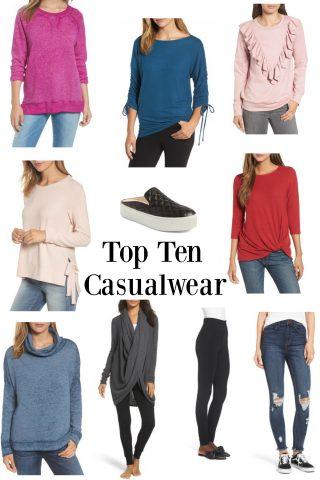 Top Ten Casualwear
