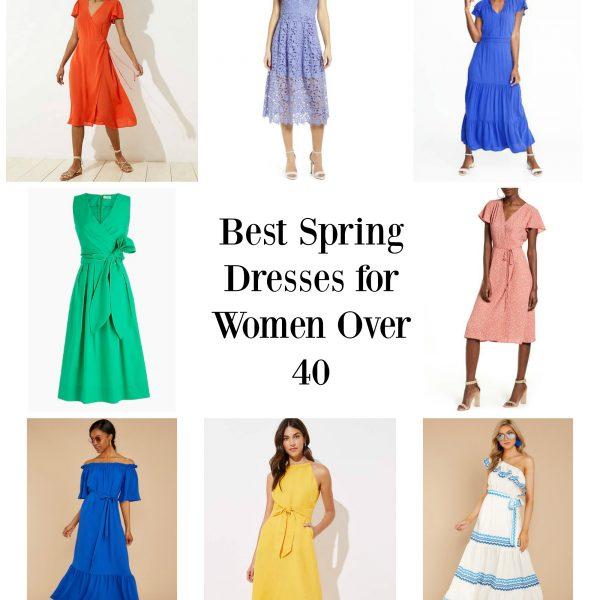 Best Spring Dresses for Women over 40